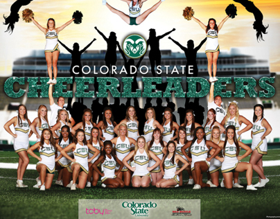 2013 Colorado State Cheer Poster