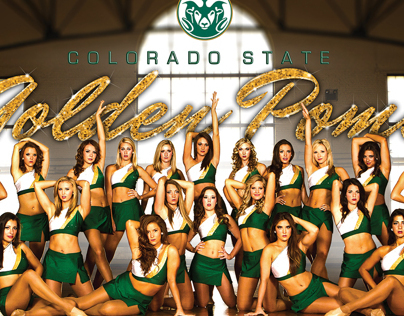 2013 Golden Poms Poster