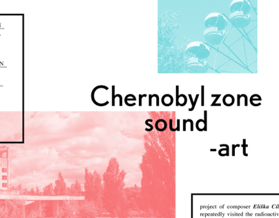 Sounds of chernobyl zone