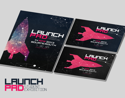Lauchpad & Grad Night! Event Poster Design.
