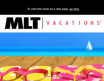 Delta Vacations Web Banner for Deltanet