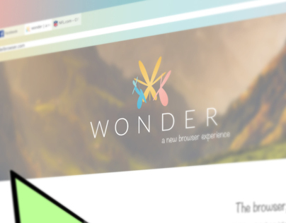 Wonder Web Browser Brand Identity