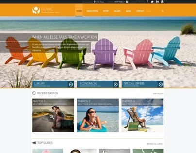Resort Responsive Worpdress Themes