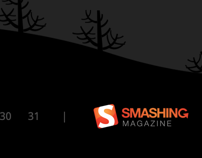 October 2013 Desktop Wallpaper Calendar for Smash Mag