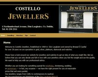 Website for Costello Jewellers, Dun Laoghaire
