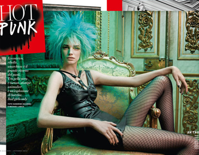 Italian Glamour ~ Hot Punk