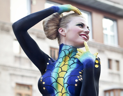 Bodypainting Girl