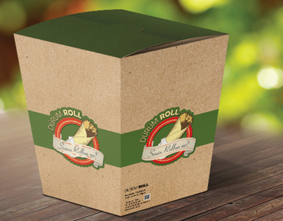 Food Box Mock up