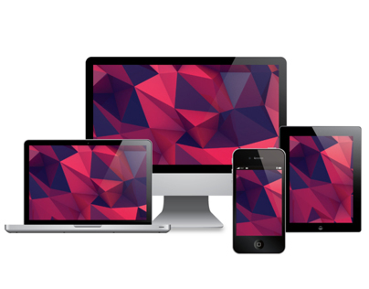 low poly desktop - laptop - phone- wallpapers - free