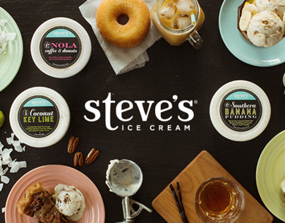 Steve's Ice Cream Website