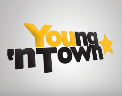 Restyling Young n Town logotype