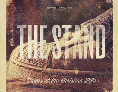 The Stand-Church Flyer Template