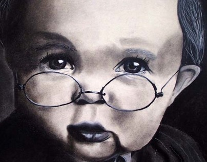 Baby Portrait Illustrations