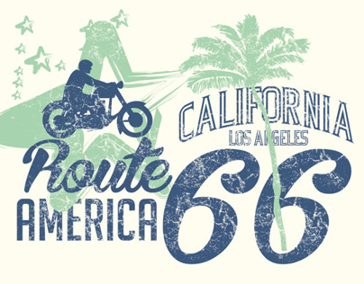 california vector art