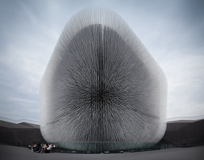 UK pavilion at Shanghai World Expo