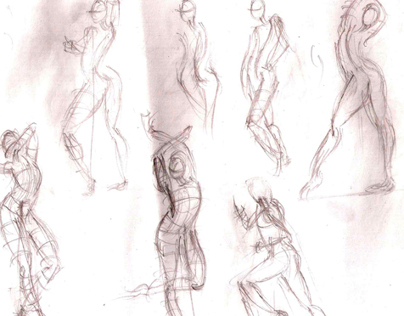 POSE SKETCHES 1