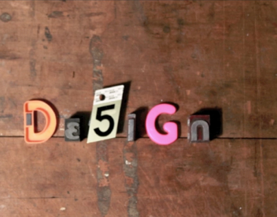 Design Is Stop Motion