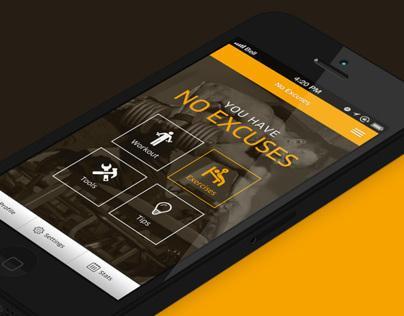 No excuses App