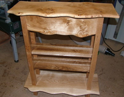Pippy Oak Wainy Edge Unit