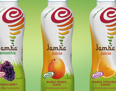 Jamba Juice Label Mockup