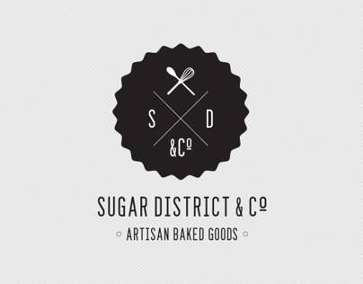 Sugar District & Co / Brand Identity