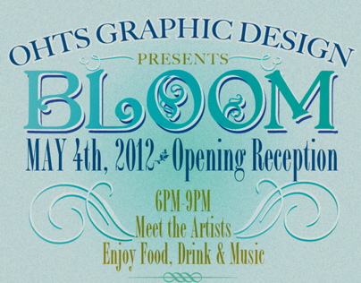 Bloom Art Show Poster
