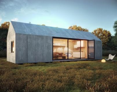 Portable house (Lightning study)