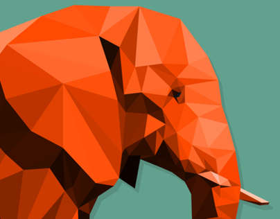 Low Poly Elephant