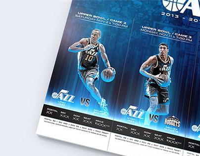 Utah Jazz 2014 Season Tickets