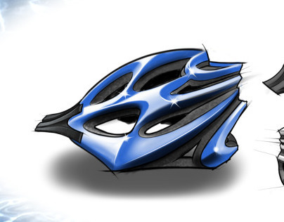 Water Inspired Helmet