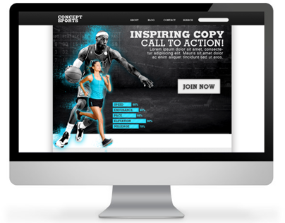 Concept Sports Website