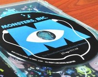 Monsters, Inc: Media Packaging