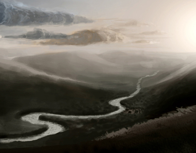 Digital Art - Landscape