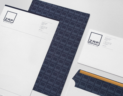 ZAF Brochure and Stationary