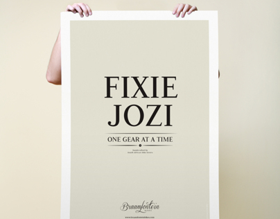 Fixie Jozi - one gear at a time