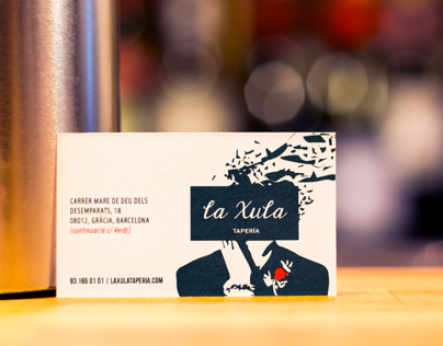 La Xula Tapería Business Cards