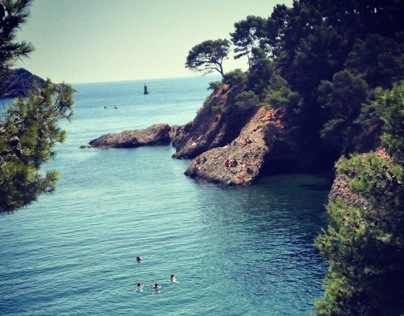 Travel Report - From Albi to Nice - by Daria Reina