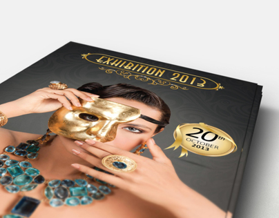 Jewellery Exhibition Flyer