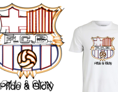 Pride & Glory football tees