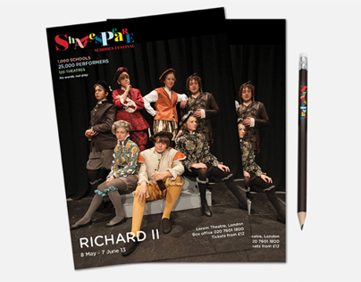 Shakespeare Schools Festival – Brand Refresh