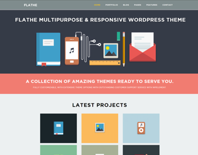 FLATHE - WP Theme