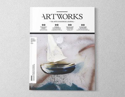 Artworks Journal #02 - Editorial Design & Art Direction