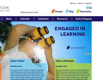 After School Program Nonprofits Website