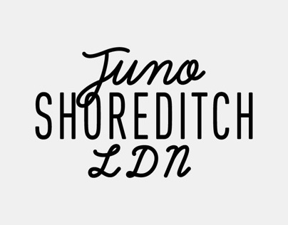 Juno Shoreditch Branding