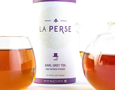 LA PERSE - Tea Packaging
