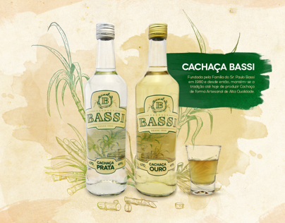 Cachaça Bassi | Website