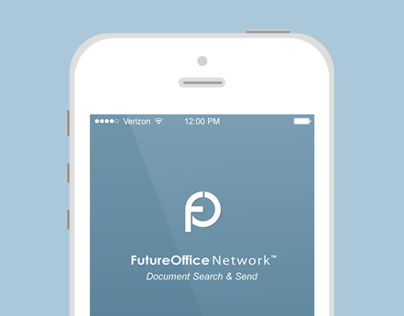 FutureOffice Network Search & Send App // iOS7 Update