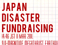 Japan Fundraising Event Poster