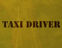 Taxi Driver Title Sequence