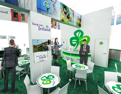 Ireland exhibition stand